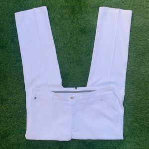 J. Lindeberg White Dress pants size 38wXwine